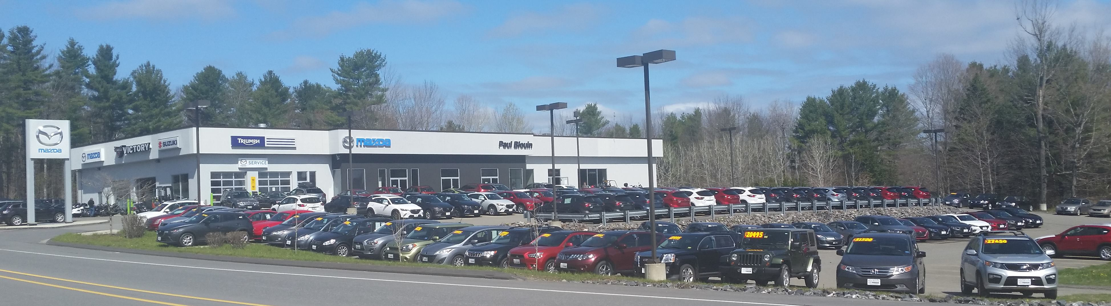 About Paul Blouin Mazda In Augusta ME - Mazda dealerships in maine