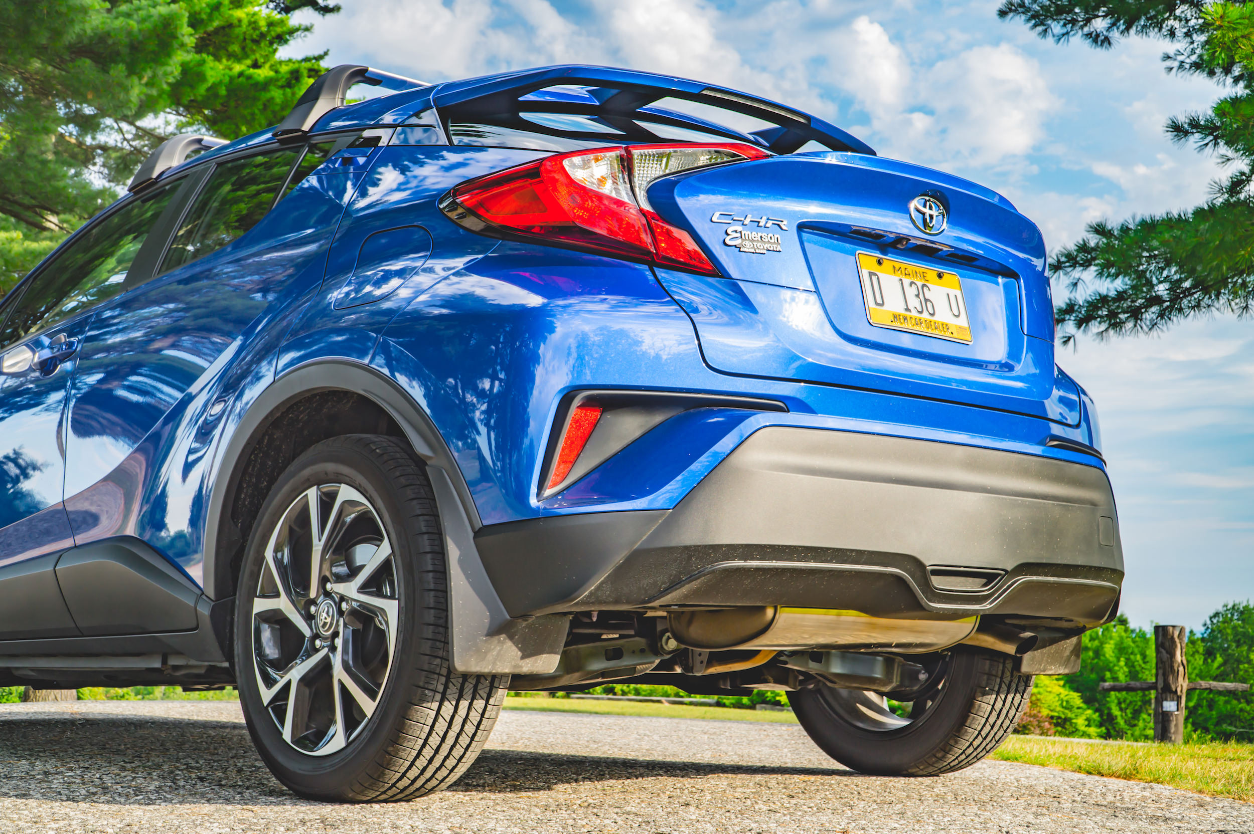2018 Toyota C-HR rear spoiler
